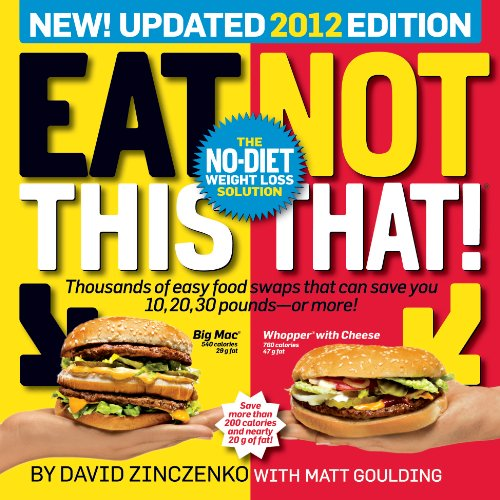 Eat This, Not That! 2012: The No-Diet Weight Loss Solution (Restaurant That S compare prices)