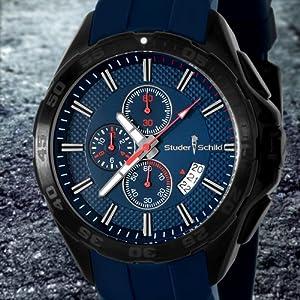 Studer Schild Eli Chronograph Watch