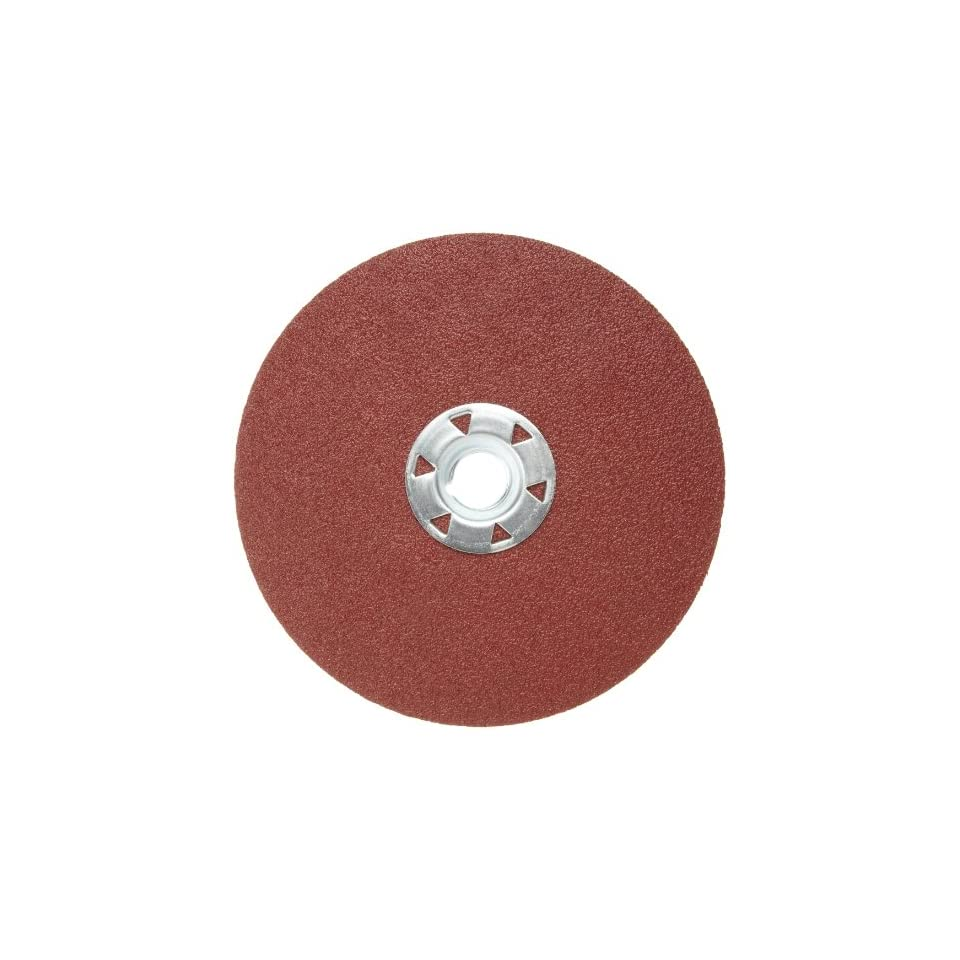 TS Pack of 100 Norton R228 Metalite Speed-Lok Abrasive Disc Grit 100 1 Diameter Cloth Backing Aluminum Oxide