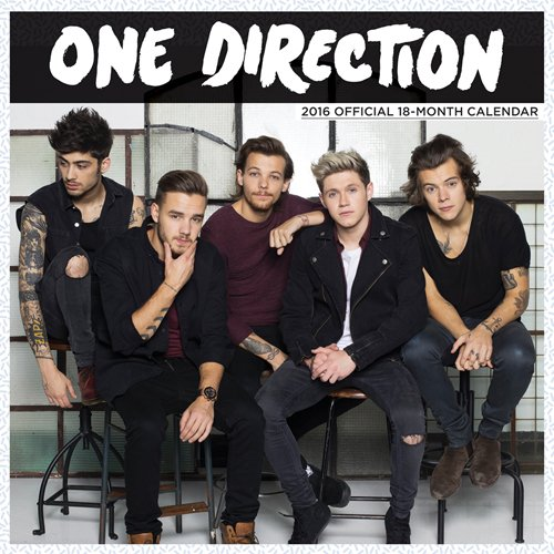One Direction 2016 Mini 7x7 Global (One Direction 3d Book compare prices)