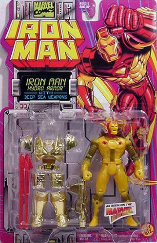 Iron Man Hydro Armor Animated Series Action Figure - 1