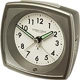 Quartz Alarm Clock - Silver 32385by London Clock Company