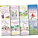 Carole Matthews Cottage by the Sea Collection Carole Matthews 8 Books Set (A Cottage by the Sea, Wrapped up in You, Summer Daydreams, With Love at Christmas, The Only Way is Up, The Chocolate Lovers' Diet, The Chocolate Lovers' Club, That Loving Feeling)