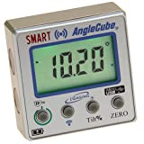 iGaging Digital Angle Cube Guage Bluetooth Bevel/Level/Protractor Magnetic Panes Lighted XL LCD
