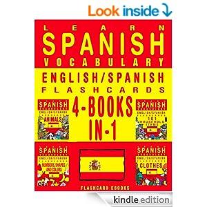 learn spanish vocabulary   english spanish flashcards   4