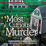 A Most Curious Murder: A Little Library Mystery, Book 1 | Elizabeth Kane Buzzelli