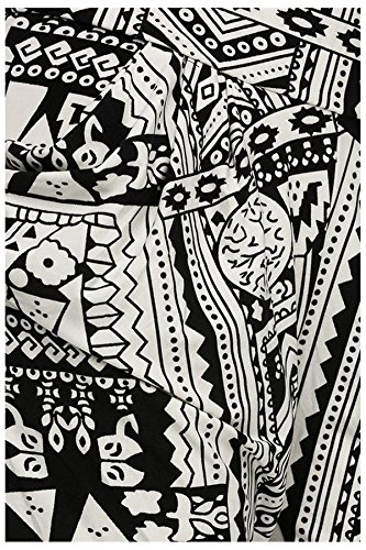 G2 Chic Women's Tribal Print Harem Pant with Pockets
