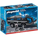 Playmobil - A1502735 - Jeu De Construction - Véhicule D'intervention Police