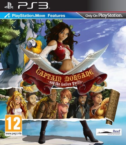Captain Morgane and the Golden Turtle [PEGI] - [PlayStation 3]