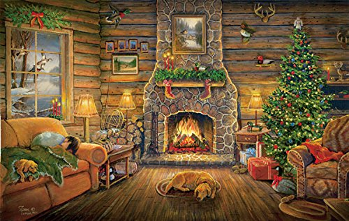 Holiday Rest a 550-Piece Jigsaw Puzzle by Sunsout Inc.