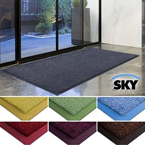 casa-purar-dirt-trapper-barrier-mat-with-matching-rubber-edge-grey-85-x-150cm-non-slip-absorbent