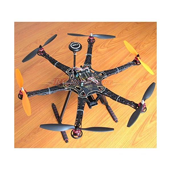 Hobbypower DIY S550 Hexacopter Frame with APM2 8 Flight Controller NEO-7M  GPS + HP2212 920KV Brushless Motor & Simonk 30A ESC