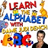 Learn the Alphabet with Dame Judi Dench Audiobook by Tim Firth, Martha Ladly Hoffnung Narrated by Judi Dench