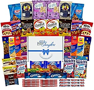 Fun Snacks Variety Care Package (40 Snacks, No Fun Size) - College, Military, Workplace or Home