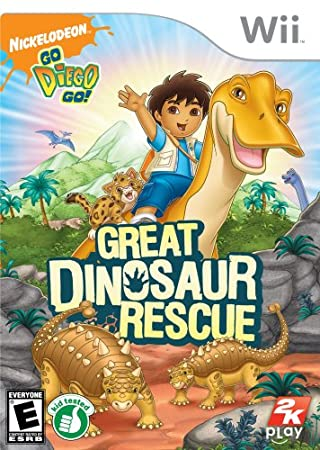 Go, Diego, Go!: Great Dinosaur Rescue