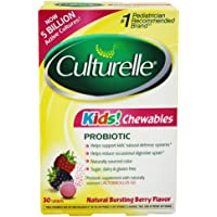 30-Count Culturelle Kids Chewables Probiotic Tablets (Berry Flavor)