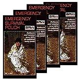 Emergency-Mylar-Survival-Sleeping-Bags-Pack-of-4-Bags-SSB-4