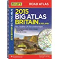 Philip's Big Road Atlas Britain and Ireland 2015: Spiral (Philips Road Atlas)