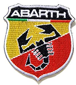 Amazon.com: ABARTH FIAT Logo Sign Classic Car Patch Iron on Sew