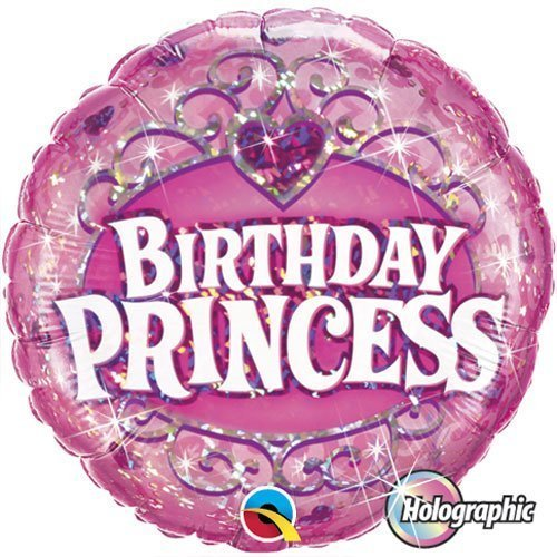 "Single Source Party Supplies - 18"" Birthday Princess Mylar Foil Balloon by Single Source Party Supplies"