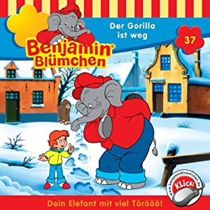 Der Gorilla ist weg (Benjamin Blümchen 37) Hörspiel