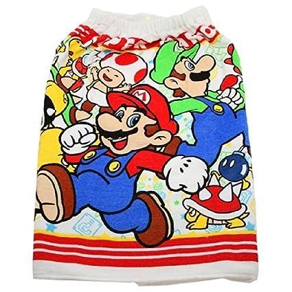 Wrap towel Super Mario 60 * 120cm 2237964 Makimaki towel rolled towel