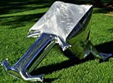 Silver Balloon Solar Cooker, Black Friday Deals Now - ultra-light, ultra-portable, ultra-compact next generation solar oven for backpackers, RVers, boaters, campers. Includes cooking pan, and WAPI.