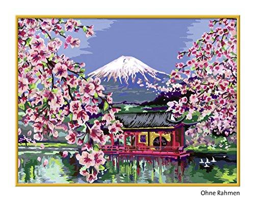 ravensburger malen nach zahlen japanische kirschbl te preisvergleich action und spa g nstig. Black Bedroom Furniture Sets. Home Design Ideas