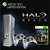 XBOX 360 SLIM Limited Edition 4GB HALO REACH - Console Onlyby Microsoft