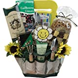 61xyRXw jtL. SL160  Art of Appreciation Gift Baskets Garden Lovers Gift Tote of Tools and Snack Treats