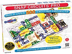 Elenco Snap Circuits PRO SC-500 Physics Kit