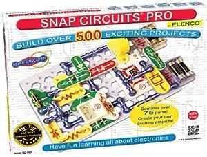 Elenco Snap Circuits PRO SC-500 Physics Kit