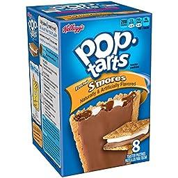 Kellogg\'s Pop-Tarts S\'Mores, 8 ct, 14.7 oz