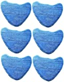 6 x CKB Ltd Own Brand Microfibre Cleaning Pads Fit Vax S2S, S2S-1, S2ST, Bare Floor Pro Series Steam Cleaner Mops