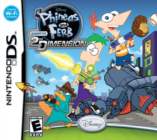 Phineas and Ferb: Across the 2nd Dimension - Nintendo DS - 1