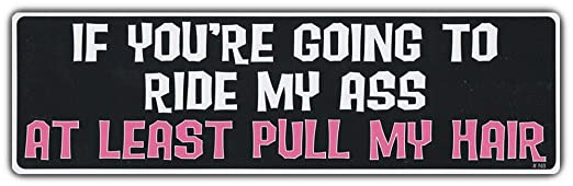 Funny Bumper Stickers Amazon Funny Bumper Sticker if