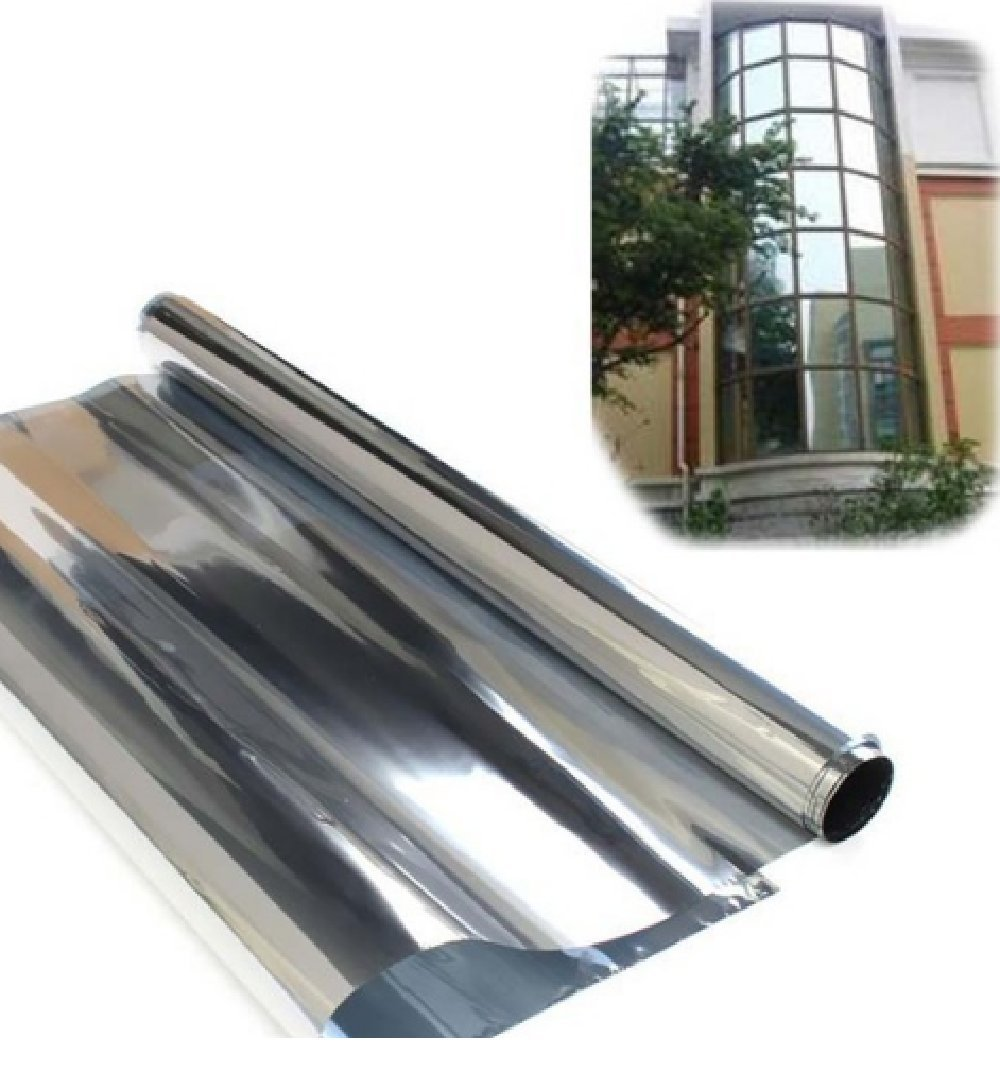 Buy Cm Mirror Solar Reflective Window Film One Way Privacy - Window stickers for home india