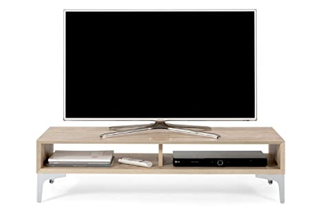 mobilifiver Deep Mobile Porta TV, madera, roble, 112 x 40 x 27 cm
