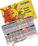 Sakura XEP50 50-Piece Cray-Pas Junior Artist Assorted Color Oil Pastel Set