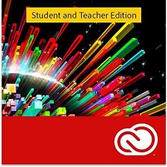 Creative Cloud Indiv abonnement 1 an (version complète réservée aux étudiants et enseignants) [Code]