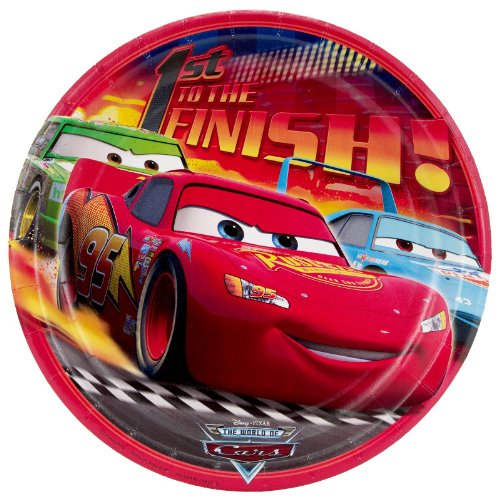 Disney's World of Cars Dinner Plates (8 count) - 1