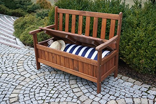 gartenbank mit truhe holz bestseller shop. Black Bedroom Furniture Sets. Home Design Ideas