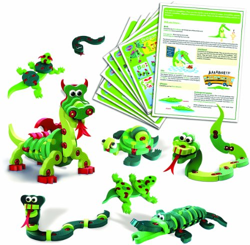 Bloco Toys - Dragons and Reptiles-Scholastic set