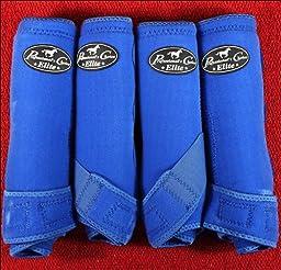 Professionals Choice Equine Sports Medicine Ventech Elite Leg Boot Value Pack, Set of 4 (Medium, Royal Blue)