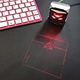ODiN Virtual Laser Projection Trackpad- World's First Holographic Mouse: The Ideal Accessory for Virtual Keyboards (Black)