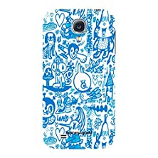 buy Homesogood Various Cartoon Characters White 3D Mobile Case For Samsung S4 ( Back Cover)