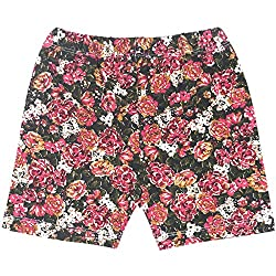Rute Printed Knit Shorts