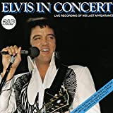 Elvis Presley In concert-live recording of his last appearance [VINYL]