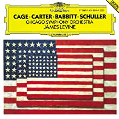 Carter: Variations for Orchestra / Babbitt: Correspondences / Schuller: Spectra for Orchestra / Cage: Atlas eclipticalis