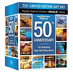 IMAX: 50th Anniversary Limited Edition Box Set Collection (10 Amazing High-Def Adventures) [Blu-ray]